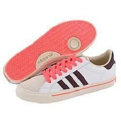 adidas Originals Classic Vulc Lo White/Light Maroon/Lucid Red Shoes