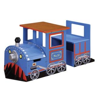 Teamson Kids   Childrens Train Writing Table