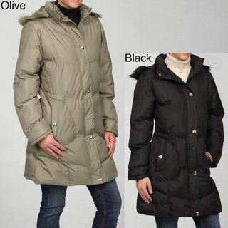 KC Collections Womens Long Coat FINAL SALE