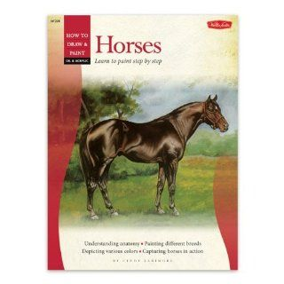 Foster Book 228 Oil Painting Horses Arts, Crafts