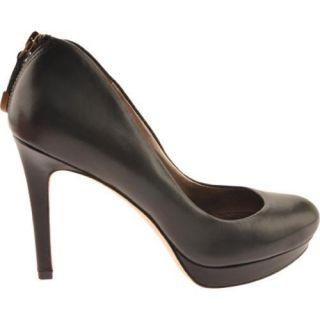 Womens Joan & David Wilma Black Leather