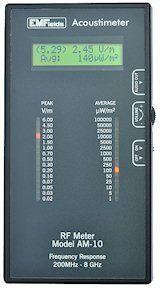 Radio Frequency Meter (Acoustimeter) Electronics