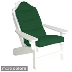 Outdoor All weather Adirondack Tufted Chair Cushion Today $55.99 Sale