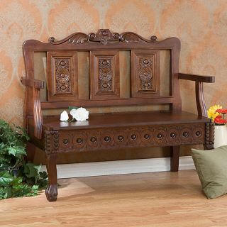 Living Room Benches Storage Benches, Settees, Country