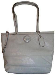 Coach Signature Patent Leather Purse Handbag Tote 15142