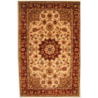 Hand tufted Persian Gold Wool Rug (5 x 8)