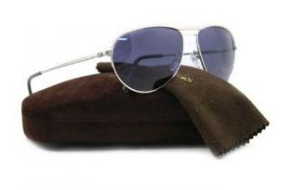 Tom Ford William FT0207 Sunglasses   17V Shiny Palladium