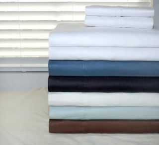Pima Cotton 350 Thread Count Deep Pocket Sheet Set