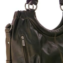 Rina Rich Julie Faux Leather Shoulder/ Tote Bag