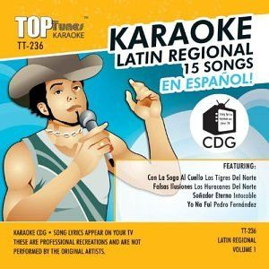 Top Tunes Karaoke TT 236 Latin Pop; Los Tigres Del Norte
