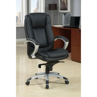 Enitial Lab Luxurious Adjustable Padded Leatherette Office Chair Today
