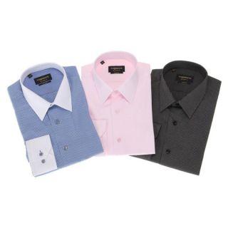 TORRENTE COUTURE 3 Chemises Thiers/LincolnFaure Noir et blanc, bleu et