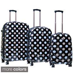 CalPak Montego Bay Polycarbonate Shell Hardside 3 piece Luggage Set