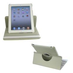Rotating Dual Layer iPad 2 PU Leather Case