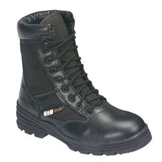 Ad Tec Mens 9in Swat Uniform Electrical Hazard Work Boots