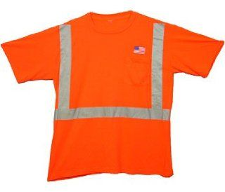 Class Two Level 2 ORANGE safety SHIRTS with Silver stripes XXL Size