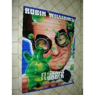 Walt Disney Flubber 2 sided Vinyl Movie Banner 1998