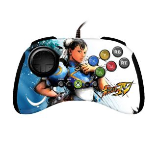 Xbox 360   Street Fighter IV Chun Li Fight Pad   By Saitek
