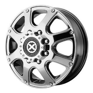 17x6 American Racing ATX Ledge Dually (Bright PVD) Wheels/Rims 8x200