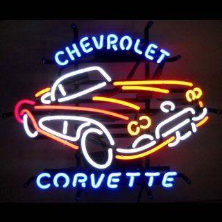 Neon Signs Chevrolet Corvette C1 Neon Sign Home