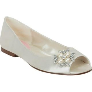 Womens Pink Paradox London Flower White Satin Today $81.95