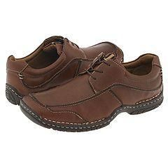 Steve Madden Marriz Brown Leather Oxfords