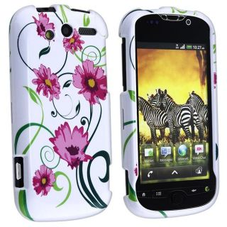 Snap on Lovely Flowers Case for HTC myTouch 4G