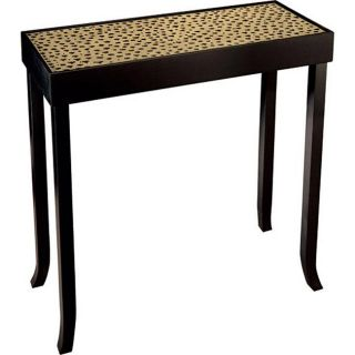 Essex Black Hand painted Wood Console Table
