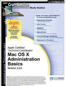 CramSessions Mac OS X Administration Basics  Certification Study
