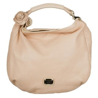 Jimmy Choo Pink Leather Hobo Bag