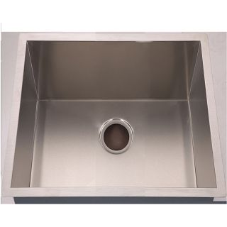 Handmade Undermount Stainless Steel Single bowl Sink