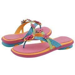 Stride Rite Emma (Youth) Scuba/Jade/Hot Pink