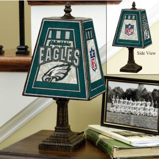 Philadelphia Eagles 14 inch Art Glass Lamp Today $56.99