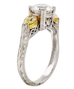 Tacori Platinum 5/8ct TDW Diamond Engagement Ring