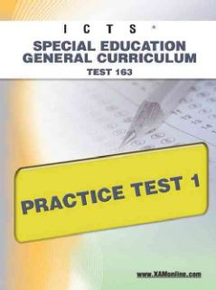 Education General Curriculum Test 163 Practice Test 1 (Paperback