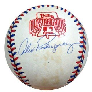 Alex Rodriguez Autographed/Hand Signed 1996 All Star Game