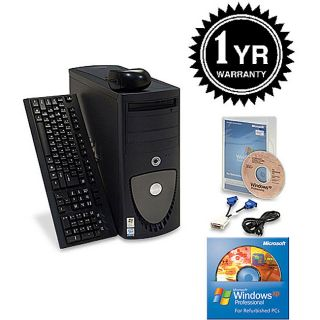 Dell Precision 370 3.2 GHz Tower XP Pro Computer (Refurbished