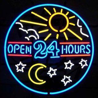 Neon Signs Open 24 Hours Neon Sign