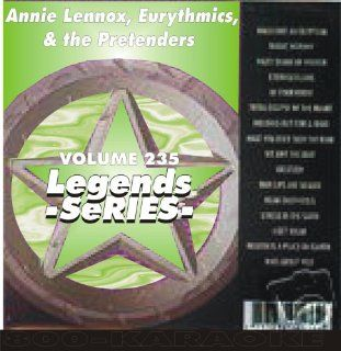 , & the Pretenders 18 Song Karaoke CD+G Legends #235 Legends Music