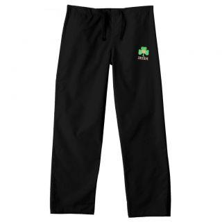 Gelscrub Unisex Black Notre Dame Irish Scrub Pants