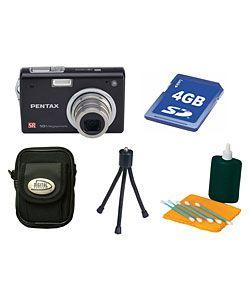 Pentax Optio A30 10MP Digital Camera w/ Bonus Kit