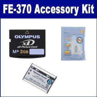 Olympus FE 370 Digital Camera Accessory Kit includes