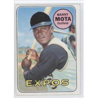 Mota Manny Rafael Mota, Montreal Expos (Baseball Card) 1969 Topps #236