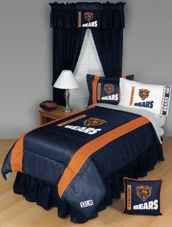 CHICAGO BEARS 5PC TWIN BEDDING SET New NFL Boys Home