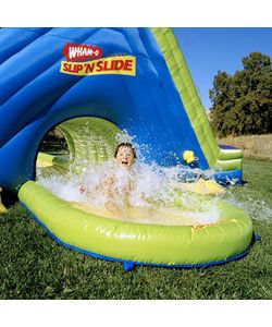 Slip N Slide Super Splash Tunnel Water Slide