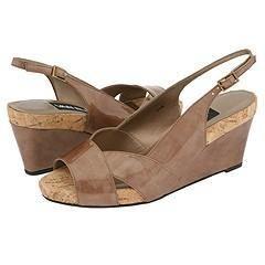 Vaneli Barmer Almond Diadema Patent w/ Natural Cork Sandals