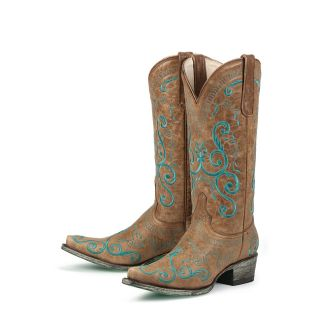 Lane Boots Womens San Miguel Cowboy Boots