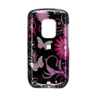HTC Hero Crystal Case with Butterfly Design