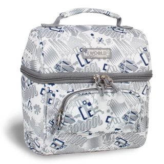 World Corey Blinker White Lunch Tote Today $22.04