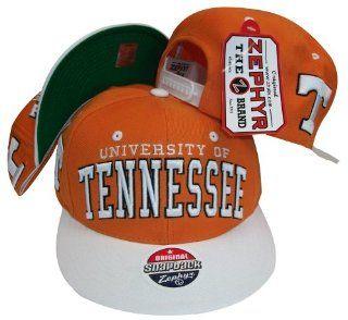 Tennessee Volunteers Vols Orange / White Two Tone Plastic